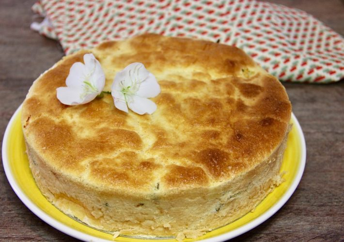 torta de frango low-carb